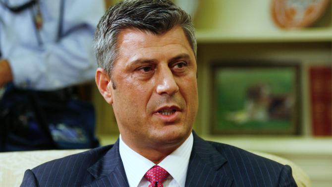 Косовският президент Хашим Тачи съобщи, че следващата седмица ще замине