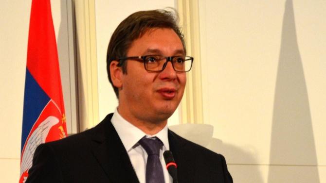 Аз съм шокиран, е заявил сръбският президент Александър ВучичАлександър Вучич