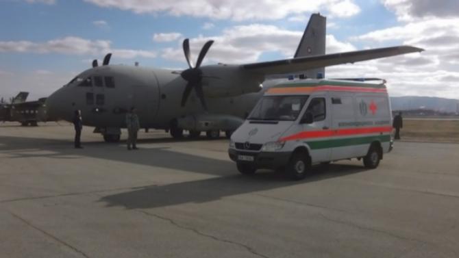 Медицинска евакуация от Афганистан на двамата ни военни, заразени с COVID-19
