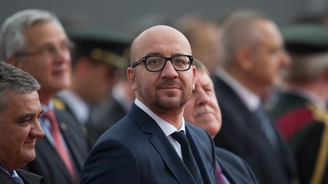 Председателят на Европейския съвет Шарл МишелШарл Мишел – белгийски политик