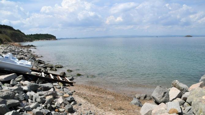 Достъпът по море в район от акваторията на Бургаския залив
