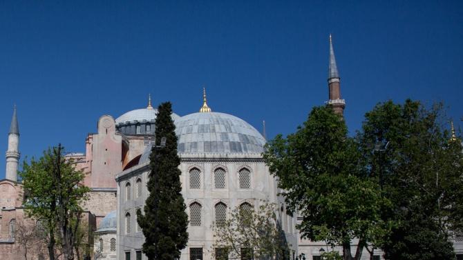 """Истанбулбската черква """"Света София"""" може да се превърне в джамия."""
