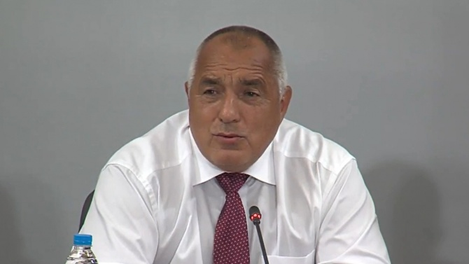 Борисов усмихнат и щастлив от новината за Еврозоната, но огорчен от Радев