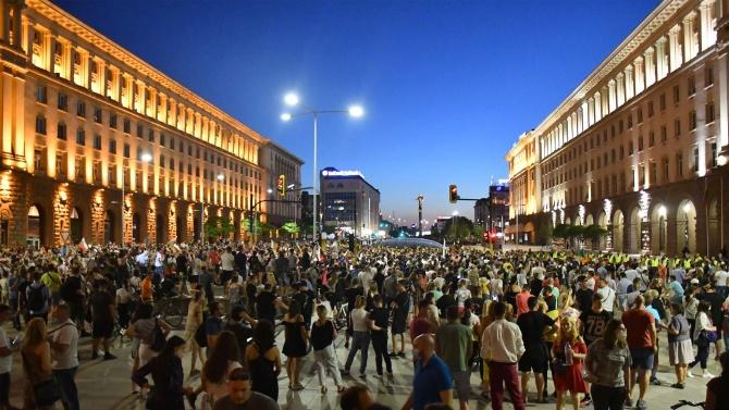 """След протестите вчера: Двама са с наранявания в """"Пирогов"""""""