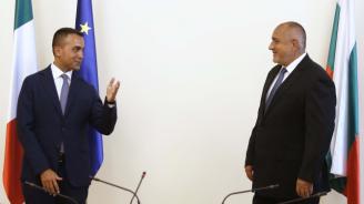 Италианският външен министър пред Борисов: Поздравявам ви за това как се справихте с кризата