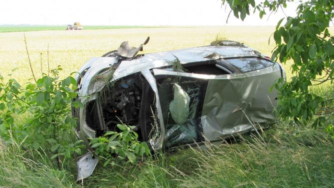 Катастрофа на пътя Бургас – Поморие с трима ранени хора.