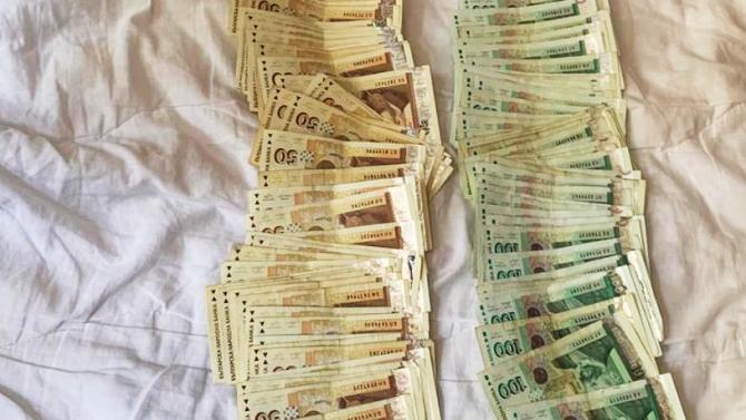 """Дядо от Русе изгоря с голяма сума пари, за да вземе """"американска пенсия"""""""