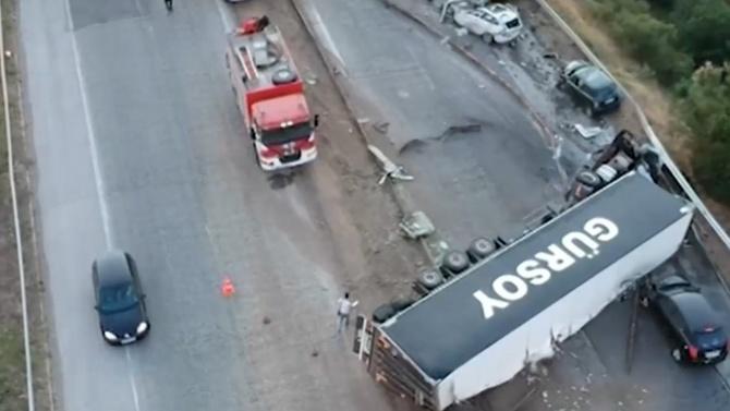 """АПИ подхваща ремонт на фаталния участък от магистрала """"Тракия"""""""