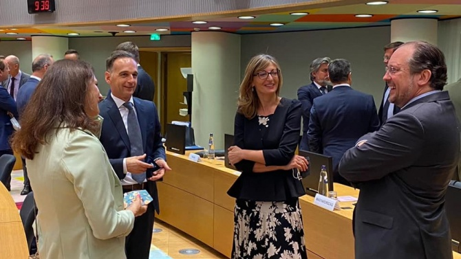 Външните министри на ЕС обсъдиха Турция и Латинска Америка на първа среща на живо след пандемията