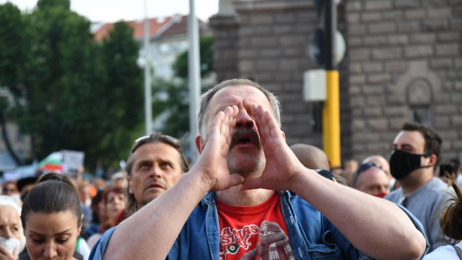 Винаги ясно сме заявявали, че мирните протести са основно право