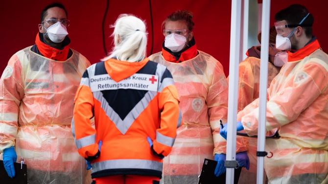 Потвърдените случаи на коронавирус в Германия нарастват до 199 375