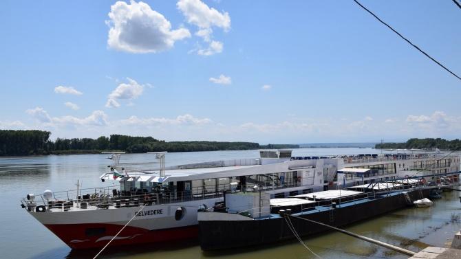 """На пристанище """"Видин"""" днес акостира първият за сезона круизен кораб"""