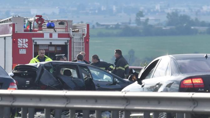 """АПИ: Мантинелата няма вина за трагедията на магистрала """"Тракия"""""""