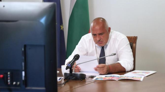 Борисов участва във видеоконференция на Икономическия и социален съвет на ООН
