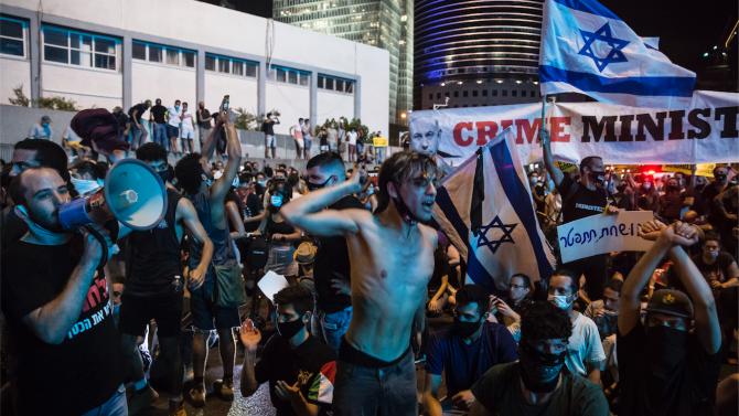 Хиляди израелци призоваха за оставка на премиера Нетаняху
