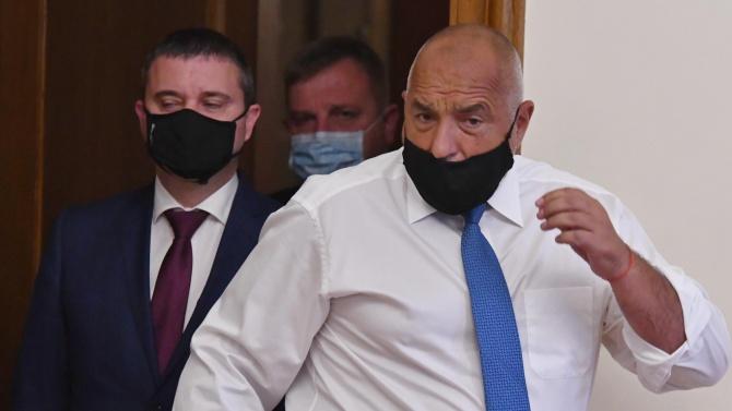 Председателят на ГЕРБ и министър-председател на България Бойко Борисов Бойко