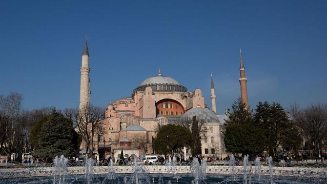 Турция: Св. София остава под егида на държавата
