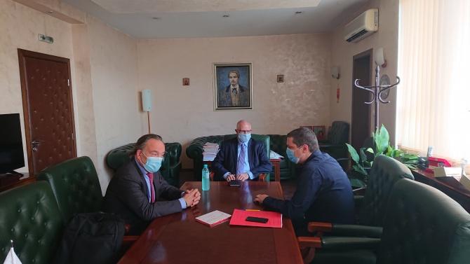 Илиан Тодоров се срещна с почетния консул на България в Кралство Белгия