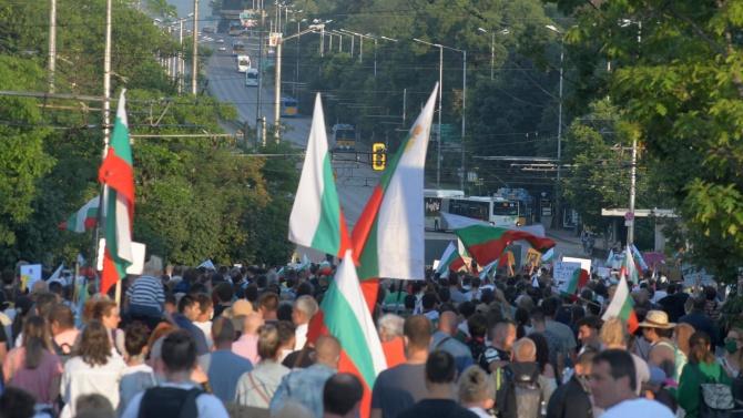 """Искат """"задържане под стража"""" за четирима обвиняеми за хулиганство на протестите"""