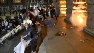 Прокуратурата с подробности за обвиняемия агресор, изпочупил бившия Партиен дом на протестите