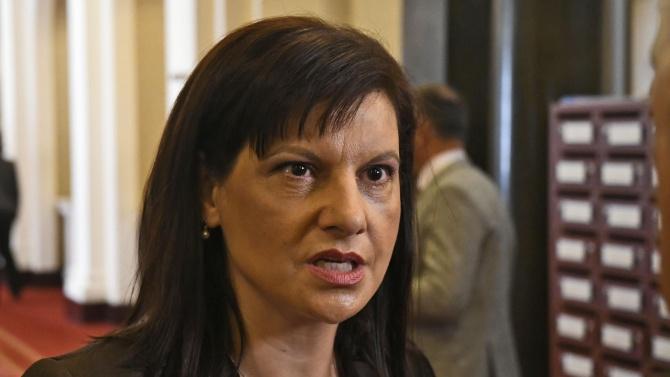 Дариткова: БСП са били притиснати от времето при изготвянето на мотивите за вота на недоверие