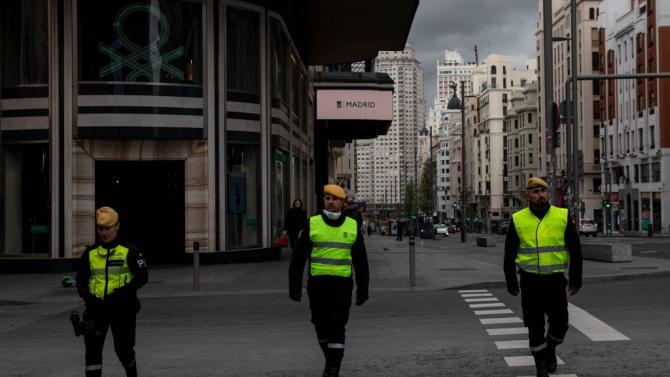 Испанското министерство на отбраната реши да отмени традиционния военен парад