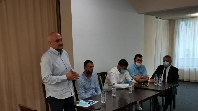 Цветомир Паунов се срещна с членове и симпатизанти на ГЕРБ от Гоце Делчев, Гърмен и Хаджидимово