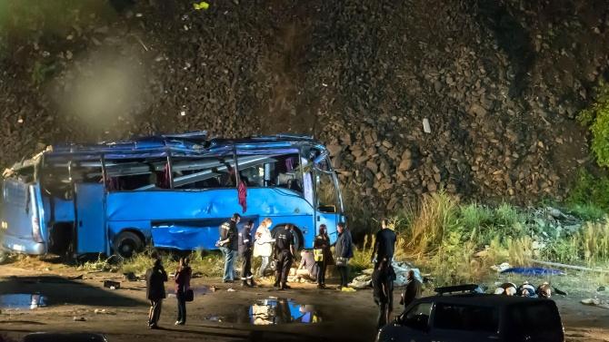 Предявяват обвинения за автобусната катастрофа край Своге през 2018 година с 20 жертви