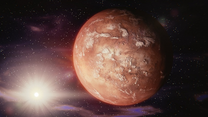 Китай планира изстрелване на безпилотен космически апарат към Марс във вторник