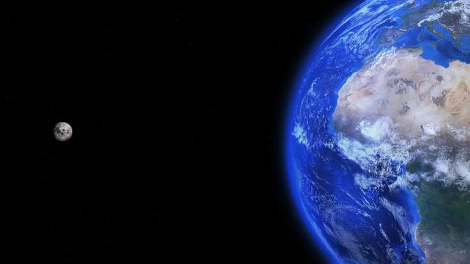 """Земята и Луната са били обект на астероидна """"бомбардировка"""" преди 800 милиона години"""