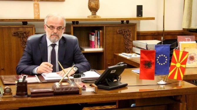 Председателят на парламента на Северна Македония Талат Джафери е приет