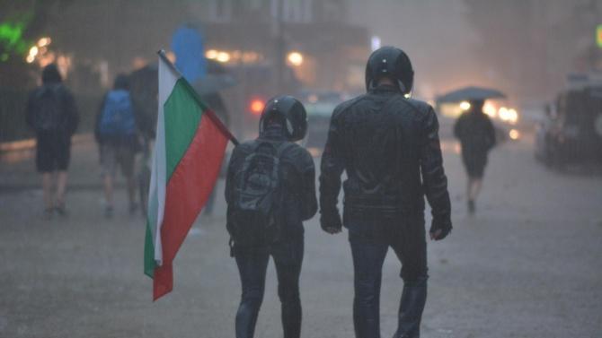 Без ескалация на напрежението завърши 17-тия ден на протест в София