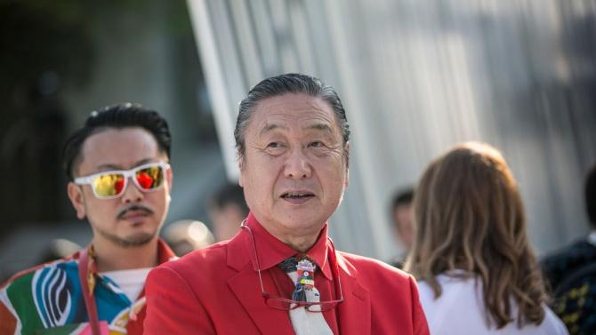 Известният японски дизайнер и организатор на мащабни развлекателни спектакли Кансай