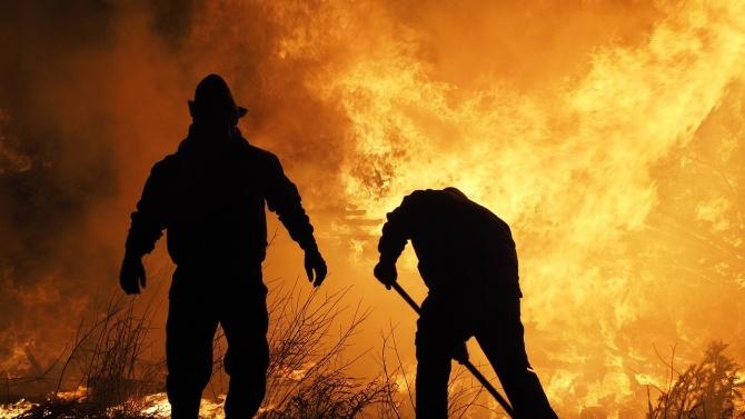 Над 200 пожара в сухи треви са гасили огнеборците в Русенско за три месеца