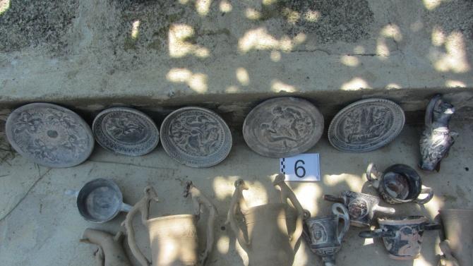 Задържаха фалшификатор на антични предмети в Стара Загора