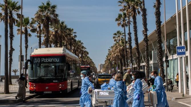 Властите на испанската автономна общност Каталуния смекчиха вчера карантината, наложена