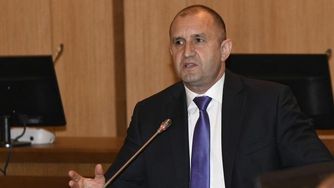 Румен Радев наложи вето върху разпоредби от промените в Закона за подземните богатства