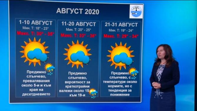Синоптик разкри какво време ни очаква през август