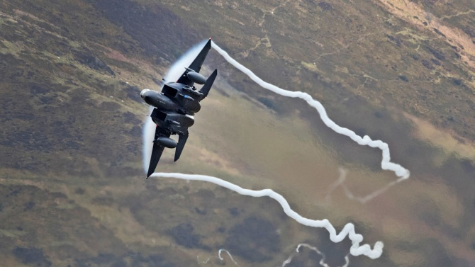 Самолети на САЩ бяха отблъснати от Руските въздушни сили над Черно море