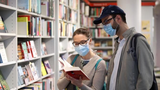 Заради пандемията спадът в издаването на нови книги достигнал 90%