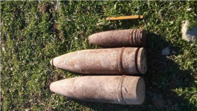 Военни от Сухопътните войски унищожиха невзривени боеприпаси