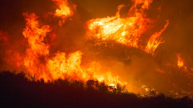 Скок на горските пожари в амазонската джунгла в Бразилия през юли