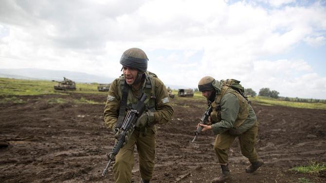 Израелската армия съобщи, че е открила огън и е улучила