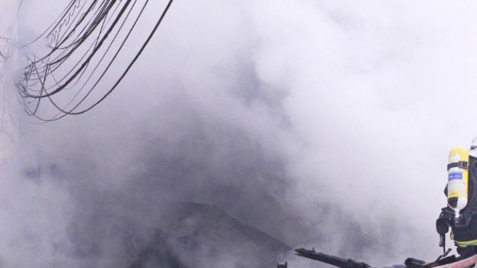 """50 тона фураж бяха унищожени в пожар край автомагистрала """"Хемус"""""""