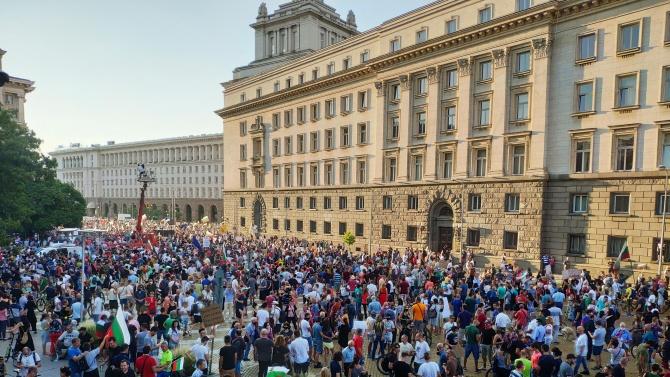 Събират подписка срещу протестите и блокадите в столицата