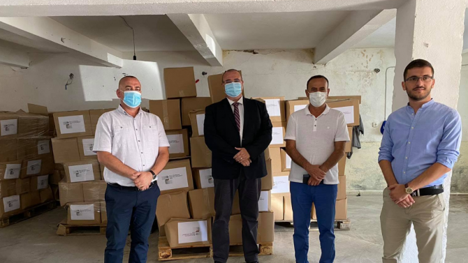 България предостави хуманитарна помощ за борба с коронавируса в Албания