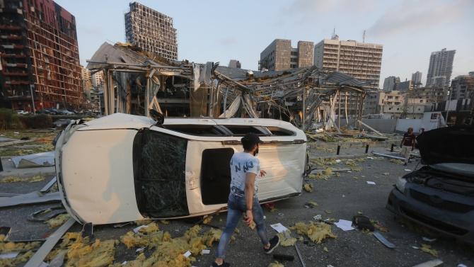 Най-малко 78 души са жертвите на снощния взрив на пристанището
