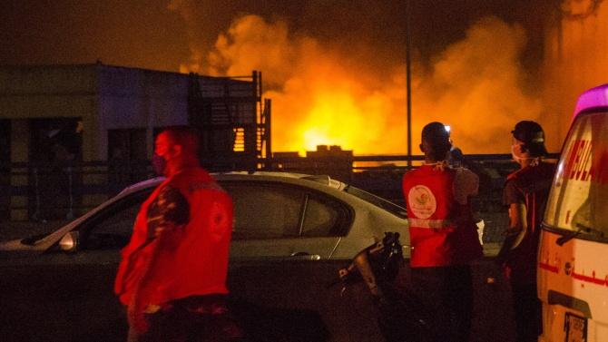 Нова опасност е възникнала в Ливан заради вчерашния взрив в