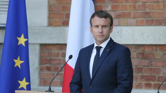 Френският президент Еманюел Макрон Еманюел Макрон е роден на 21