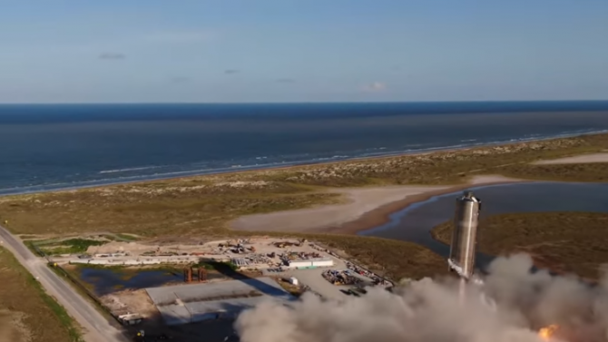 """""""Спейс Екс"""" извърши успешен тестов полет на кораб за мисии до Марс"""